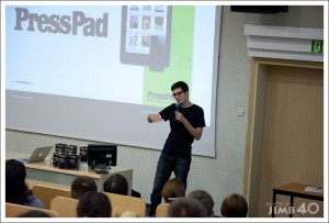 PressPad na AjPad