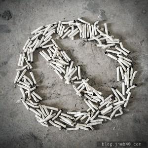Rzucanie palenia - wersja artystyczna